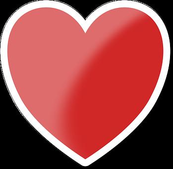 Heart, Valentine, Love, Metal, Red, White, Framed