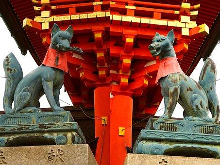 Kyoto, Japan, Fushimi Inari Shrine, Culture, Travel