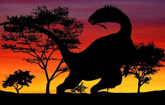 Dinosaur, Jurassic, Rex, T-rex, World, Emblem, Skeleton