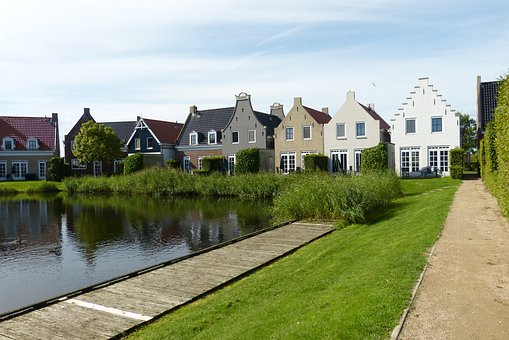 Vacations, Netherlands, Holland, Country Houses, Water