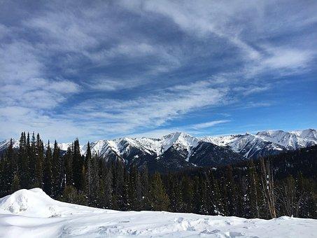 Sawtooth Mountains, Idaho, Mountains, Range, Scenic