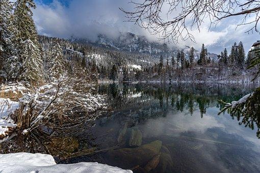 Lake Cresta, Graubünden, Switzerland