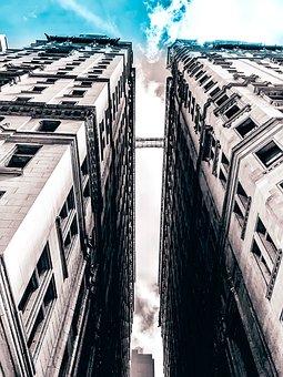 City, Sky, Architecture, Building