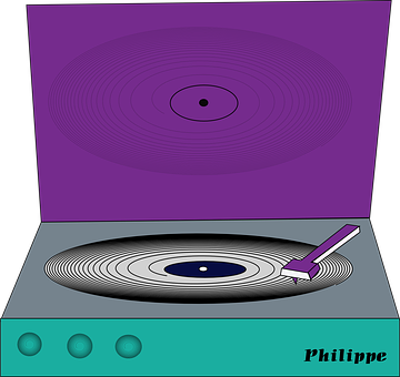 Record Player, Audio, Equipment, Music, Player, Record