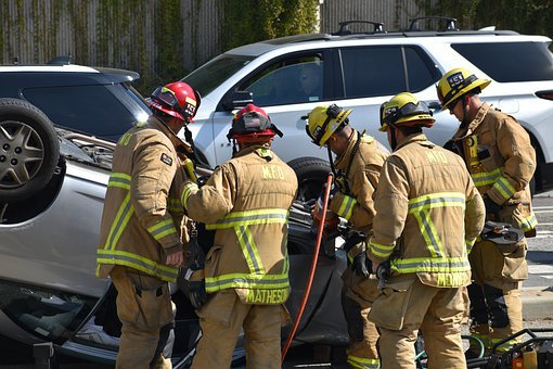 Accident, Car, Rescue, First Responders