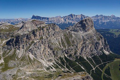 Furcela Dl Sasongher, Sasongher, Sassongher, Alps