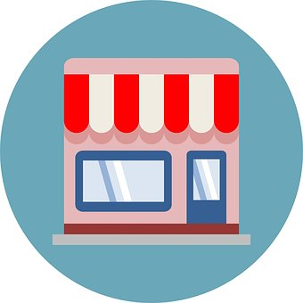Shop Icon, Icon, Shop, Shopping, Ecommerce, Business