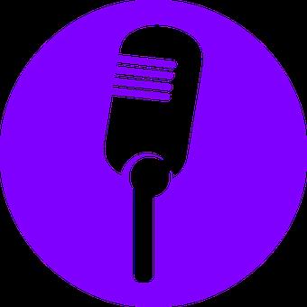Microphone, Voice, Sound, Music, Talk, Silhouette