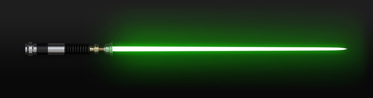 Star Wars, Lightsaber, Laser Sword, Starwars, Space