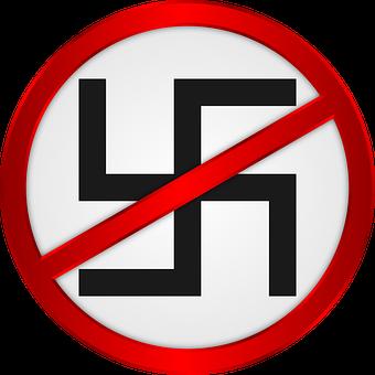 Anti Fascist, Swastika, Nazi, Nazism, Fascism, Symbol