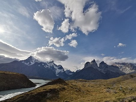 Chile, Patagonia, The Towers Of The Paine, Mountain