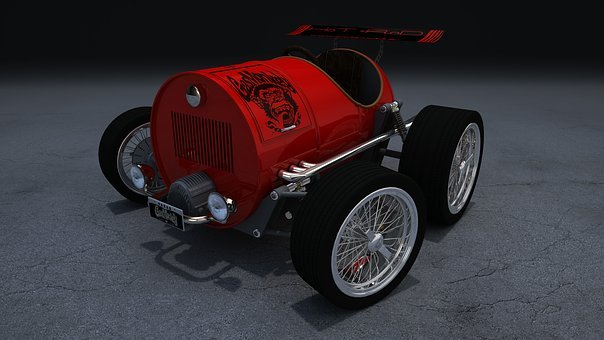 Car, Hot Rod, Vehicle, Automobile