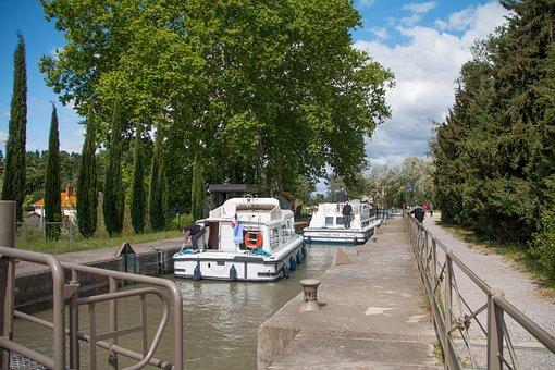 Boat, Port, Ship, Lock, Travel, Water