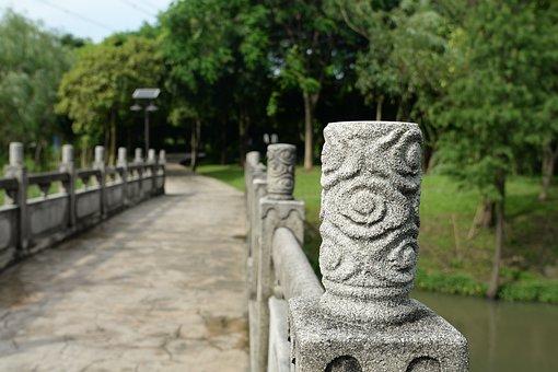 Bridge, Stone, Bridge Column
