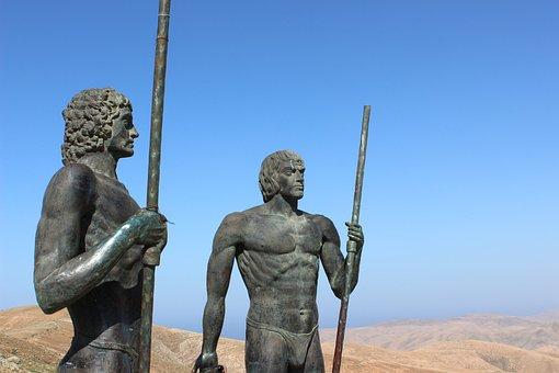 Fuerteventura, Canary Islands, Canarian, Spain, Statue