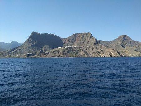 La Gomera, Island, Sea, Canary Islands, Cc0