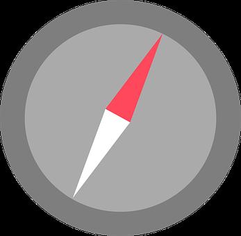 Compass, Flat, Icon, Symbol, Design, Travel, Map
