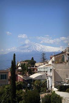 Taormina, Sicily, Sicilia, Italia, Sea, Tourism