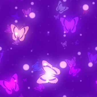 Butterfly, Bokeh, Background, Scrapbook, Page