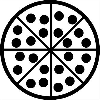 Pizza, Minimalist, Food, Italian, Flat, Slice