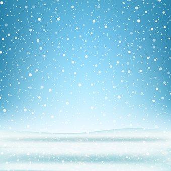 Winter Background, Snow, Christmas