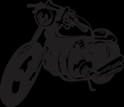 Cafe Racer, Motor, Motorcycle, Vintage, Vector, Bike