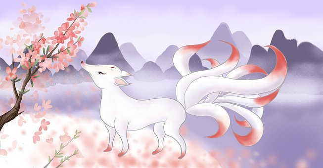Nine-tailed, Fox, Color