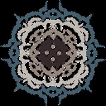 Flourish, Decorative, Ornate, Tribal, Tattoo, Damask