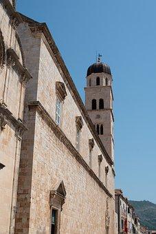 Dubrovnik, Old Town, Croatia, Tower, Arches, Doorway