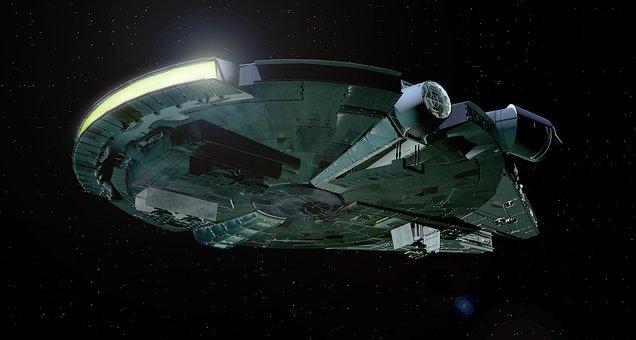 Millenium Falcon, Falcon, Star Wars, Han Solo