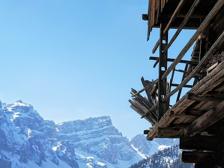 Alps, Dolomites, Rural, Italy, Mountain