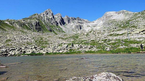 Bergsee, Nature, Graubünden, Alpine, Mountains