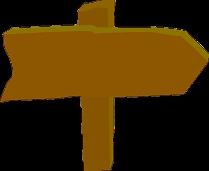 Signboard, Road, Way, Street, Wooden, Arrow, Signage