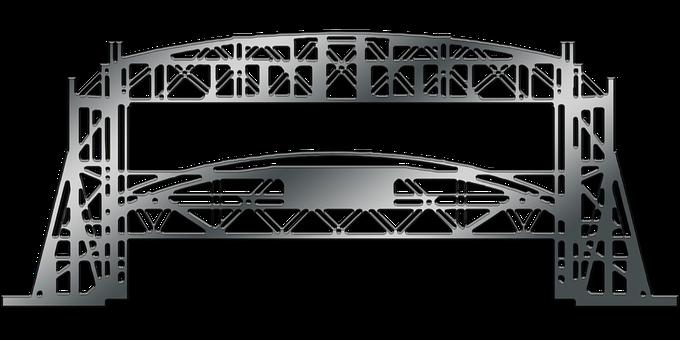 Graphic, Duluth, Minnesota, Aerial Lift Bridge Bridge