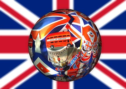 British, United Kingdom, English, Union Jack, Ball