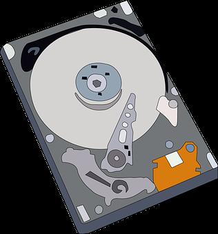 Hard, Disk, Drive, Head, Storage, Technology, Computer