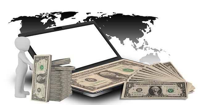 Dollar, Money, Earn Money, Internet