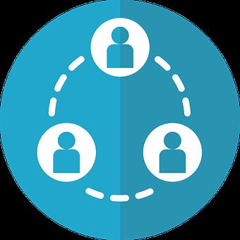 Social Network Icon, Collaboration Icon, Social Icon