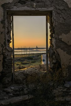 Window, Sun, Architecture, Room, Balcony, Door, Light