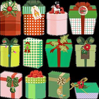 Christmas Gifts, Presents, Christmas, Gift, Xmas