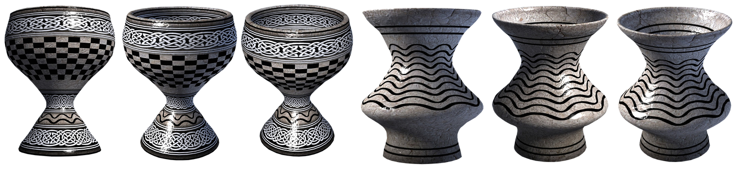 Ceramics, Pattern, Decor, Art