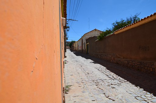 Street, Picturesque, Salta, City, Architecture, Old