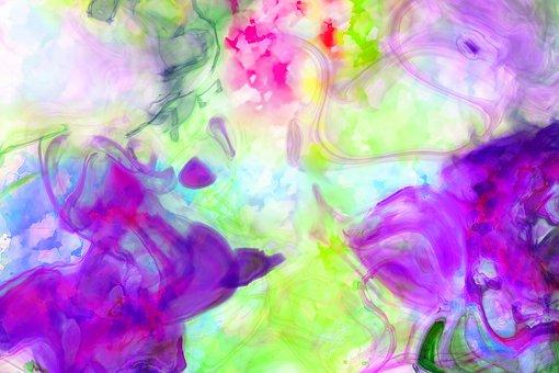 Background, Fluid, Texture, Watercolor