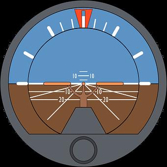 Artificial Horizon, Attitude Indicator, Gyro Horizon