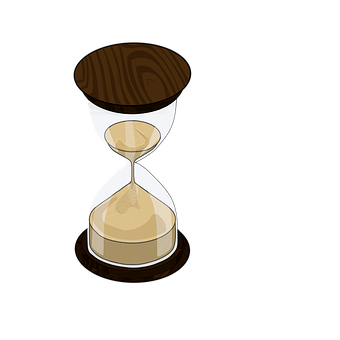Time, Hour-glass, Timer, Clock, Glass, Realistic, Sand