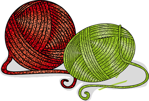 Stamen, Thread, Yarn, Circular, Weaving, Crafts, Ball