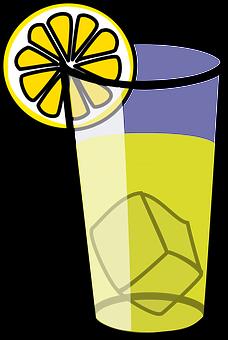 Lemonade, Glass, Drink, Beverage, Juice, Fruit, Lemon