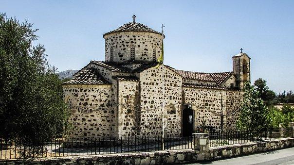 Cyprus, Pyrga, Ayia Marina, Church, 12th Century