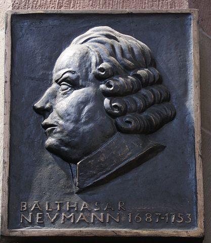 Balthasar Neumann, Memorial Plaque, 1687, 1753