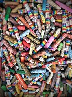 Pastel, Art, Color, Chalk